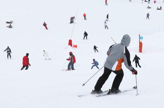 pravatami na ski pistata