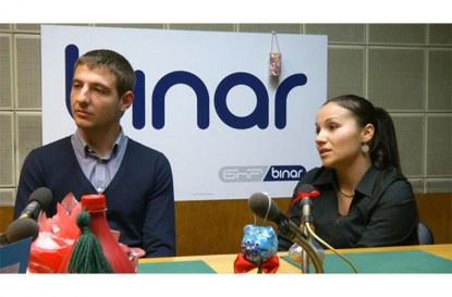 "pravatami.bg гостуват в предаването ""Автомотив"" на радио Binar 26.11.2012"