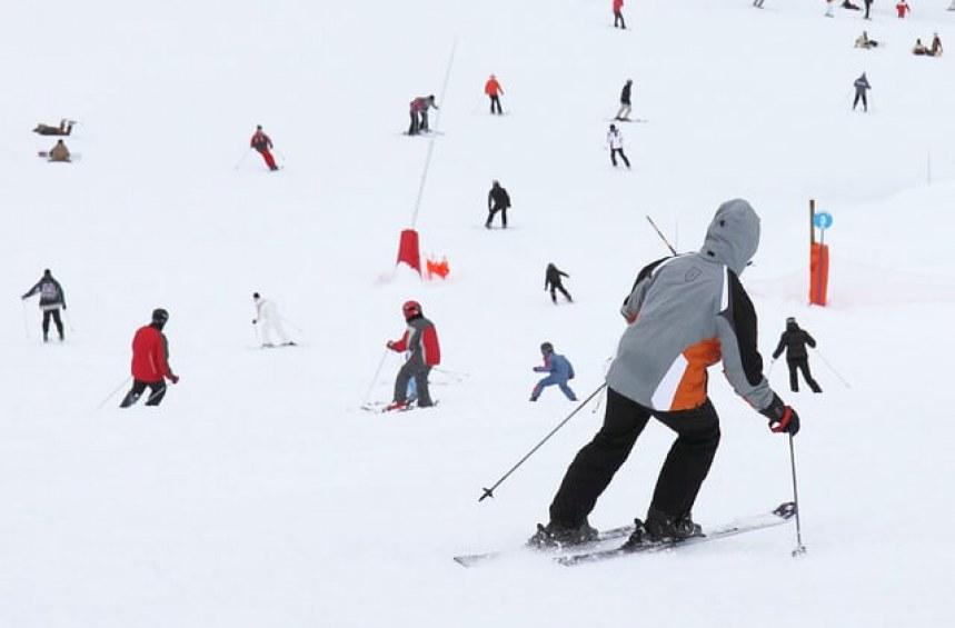 Правата ми на ски пистата