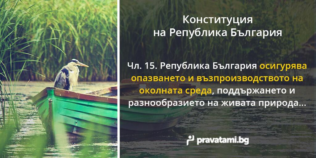 konstituciq na republika bulgaria chlen 15