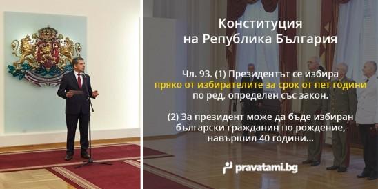 iziskvaniq za kandidat-prezidenta