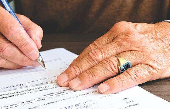 Получаване на пенсия с пълномощно